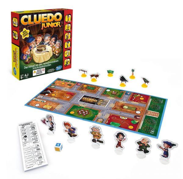 Hasbro C1293398 - Cluedo Junior