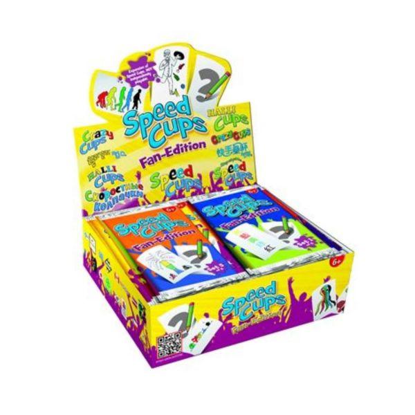 AMIGO 05110 - Kartenspiele - Speed Cups Fan-Edition