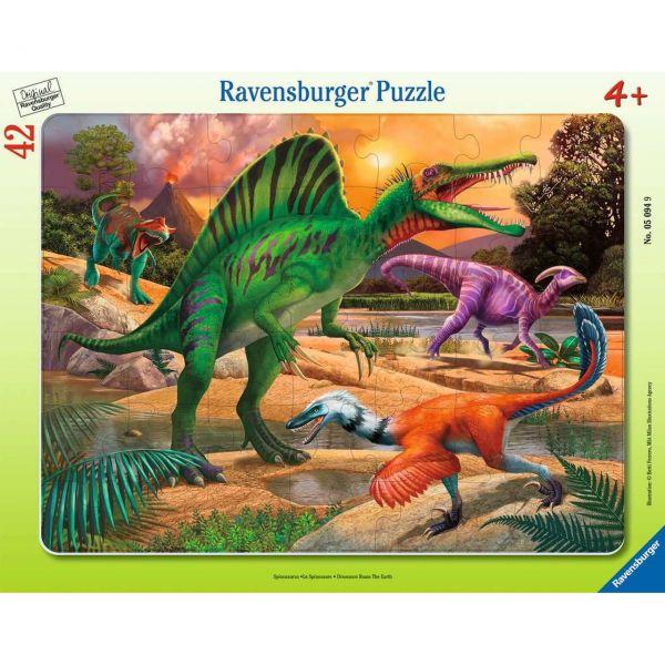 RAVENSBURGER 05094 - Puzzle - Spinosaurus, 42 Teile