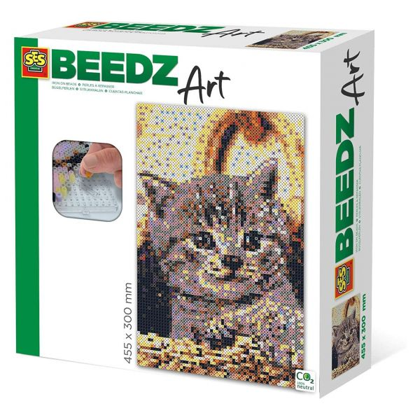 SES 06006 - Beedz Bügelperlen-Sets - Katze