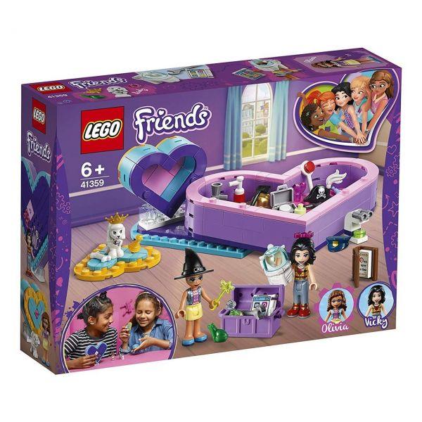 LEGO 41359 - Friends - Herzbox-Freundschaftsset