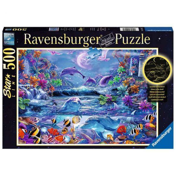 RAVENSBURGER 15047 - Puzzle - Im Zauber des Mondlichts, 500 Teile