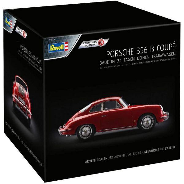 REVELL 1029 - Adventskalender - Porsche 356 B Coupé, 2020
