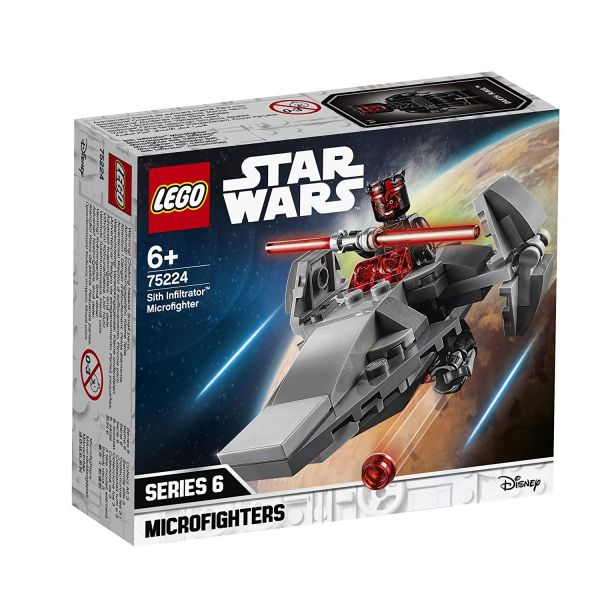 LEGO 75224 - Star Wars - Sith Infiltrator Microfighter
