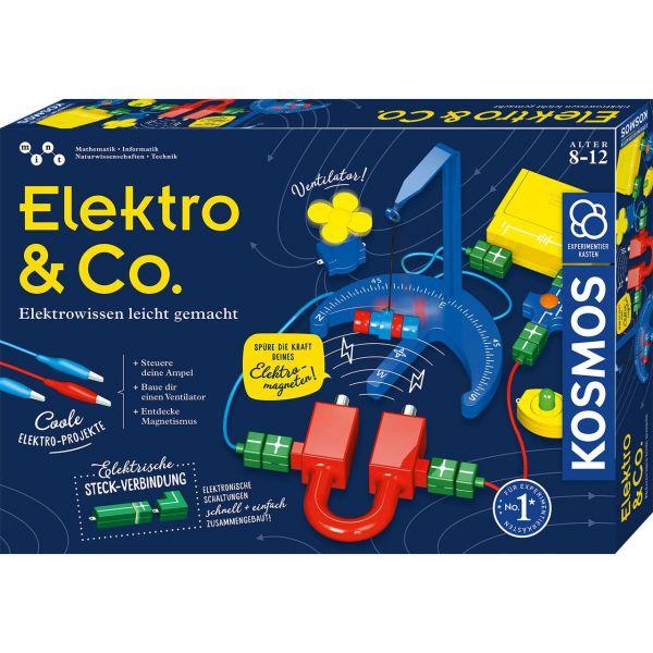 KOSMOS 620639 - Experimentierkasten - Elektro & Co