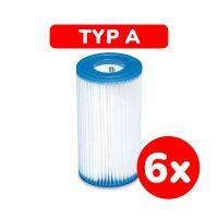 INTEX 29000 - Filterkartuschen - Schwimmbecken Filtereinsatz Typ A, 6 Stück