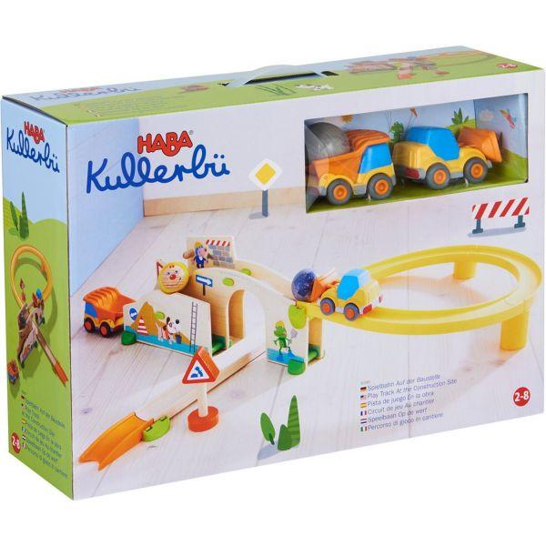 HABA 303081 - Kullerbü - Spielbahn Auf der Baustelle