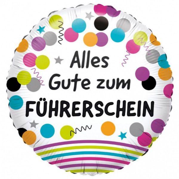 AMSCAN 3771201 - Folienballon - Alles Gute zum Führerschein, 43 cm