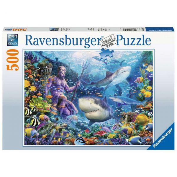 RAVENSBURGER 15039 - Puzzle - Herrscher der Meere, 500 Teile