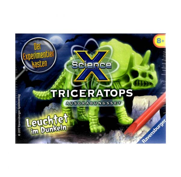 RAVENSBURGER 18022 - ScienceX - Triceratops
