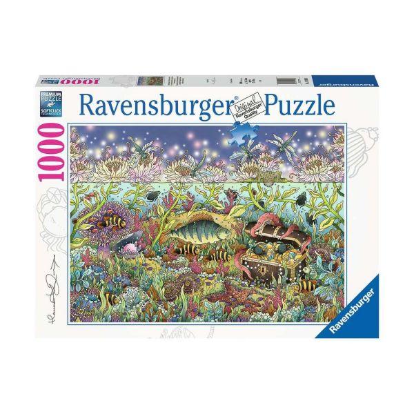 RAVENSBURGER 15988 - Puzzle - Dämmerung im Unterwasserreich, 1000 Teile