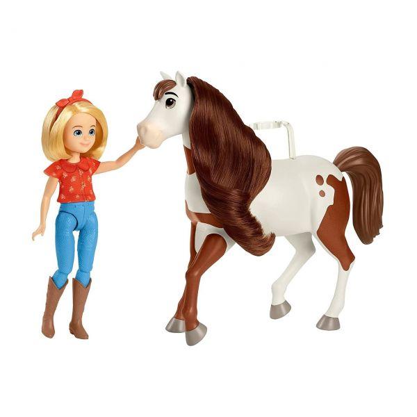 MATTEL GXF23 - Spirit Untamed - Puppe Abigail & Pferd Boomerang