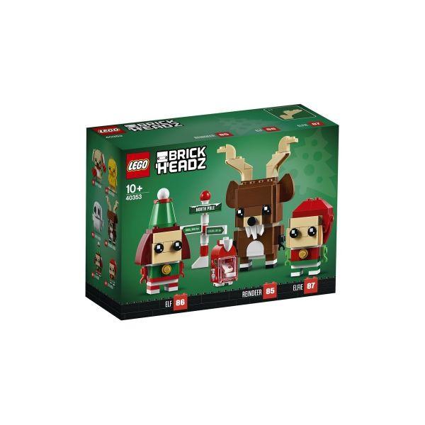 LEGO 40353 - BrickHeadz - Rentier und Elfen