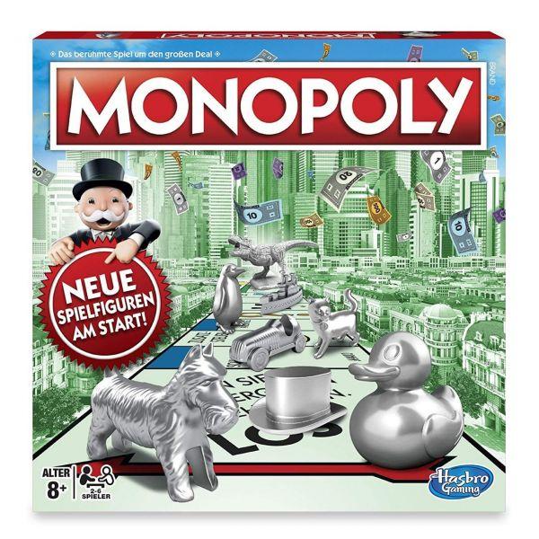 HASBRO C1009 - Familienspiel - Monopoly Classic