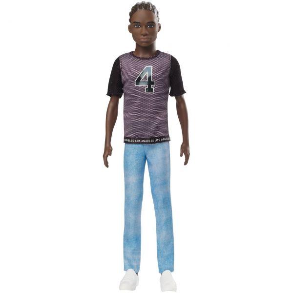 MATTEL GDV13 - Barbie - Ken Fashionistas Puppe im Trikot