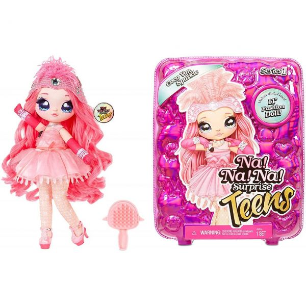 MGA 572596EUC - Na! Na! Na! Surprise - Teens Doll, Coco Vo Sparkle