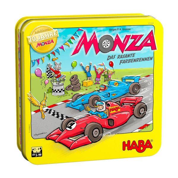 HABA 305849 - Kinderspiel - Monza, Jubiläumsausgabe 20 Jahre in der Dose