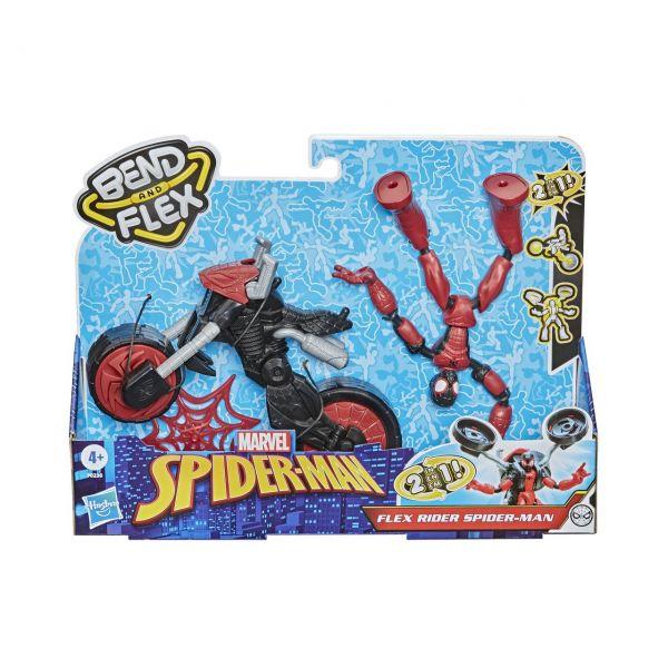 HASBRO F0236 - Marvel Spider-Man Bend and Flex - Rider