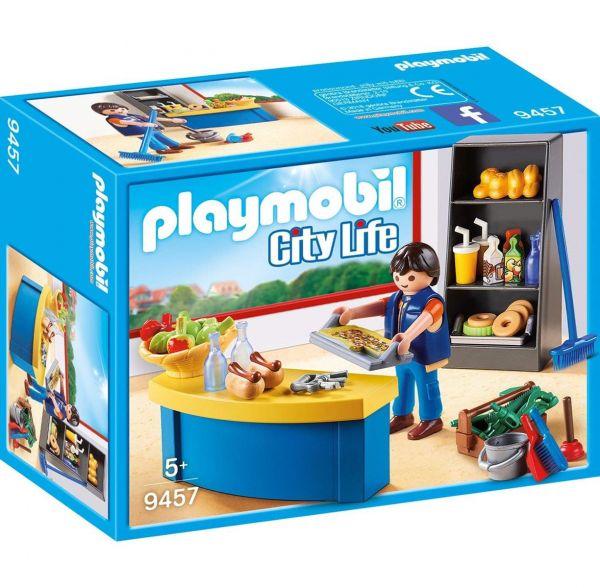PLAYMOBIL 9457 - City Life Schule - Hausmeister mit Kiosk