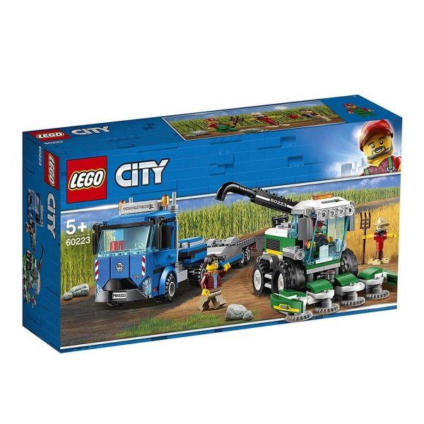 LEGO 60223 - City Fahrzeuge - Transporter für Mähdrescher
