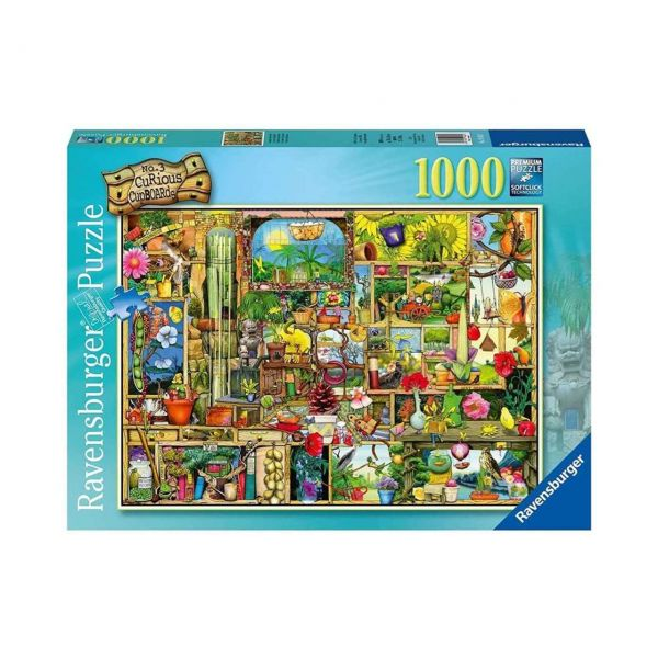 RAVENSBURGER 19482 - Puzzle - Grandioses Gartenregal, 1000 Teile
