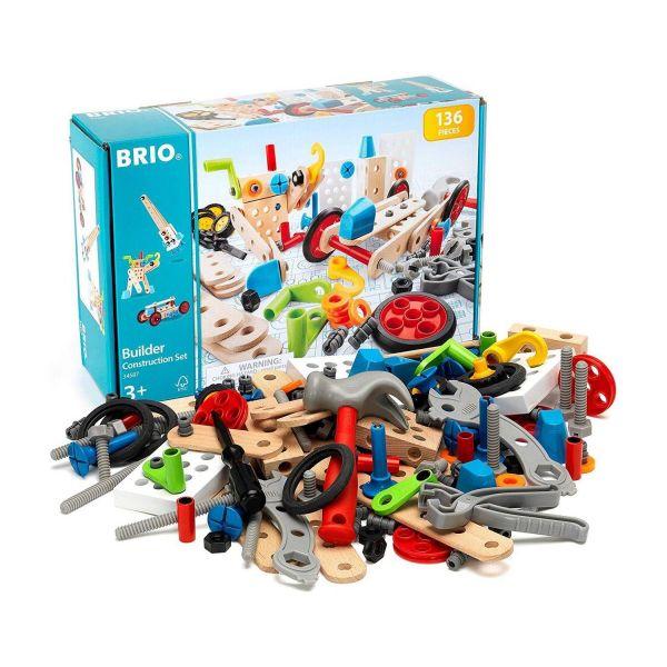 BRIO 34587 - Builder - Box, 135-teilig