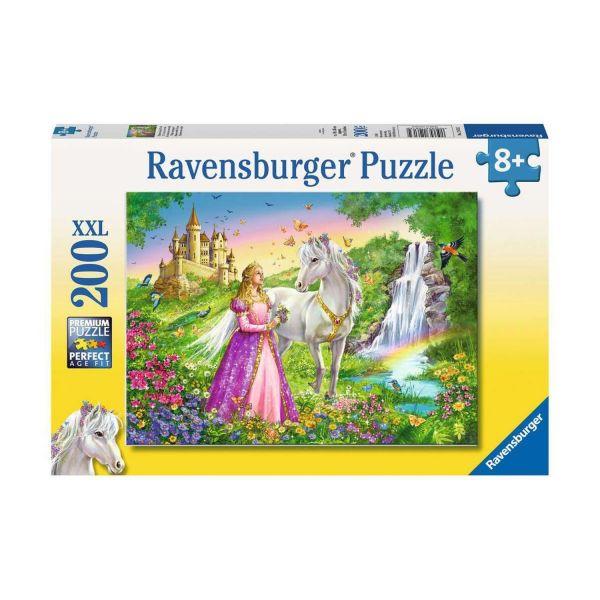 RAVENSBURGER 12613 - Puzzle - Prinzessin mit Pferd, 200 Teile XXL