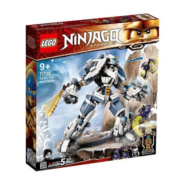 LEGO 71738 - Ninjago® - Zanes Titan-Mech