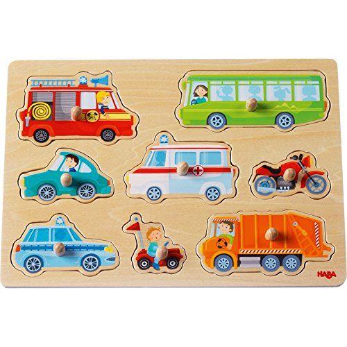 HABA 301940 - Greifpuzzle - Fahrzeuge