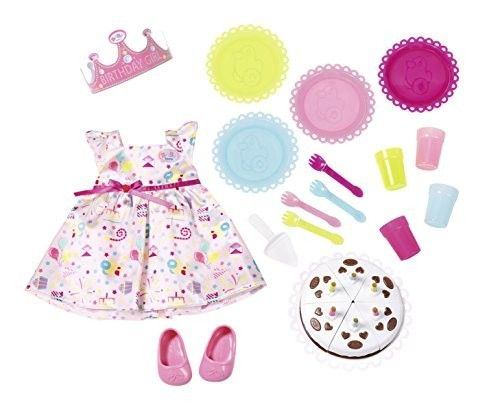 Zapf Creation 825242 - BABY born® Deluxe Bekleidung - Party Set