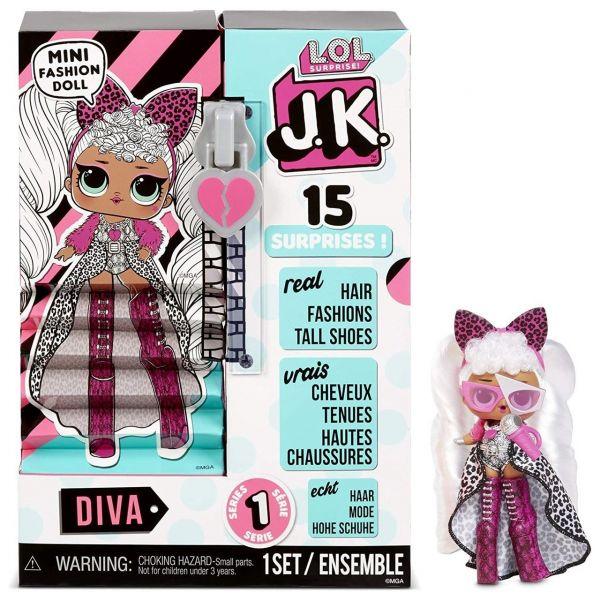 MGA 570752E7C - L.O.L. Surprise - Fashion Surprise J.K. Doll - Diva