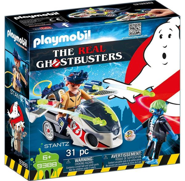 PLAYMOBIL 9388 - Ghostbusters™ - Stantz mit Flybike