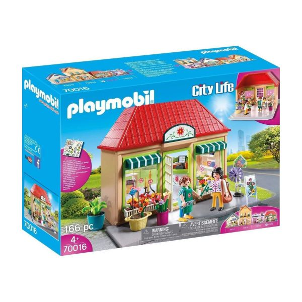 PLAYMOBIL 70016 - City Life Meine kleine Stadt - Mein Blumenladen
