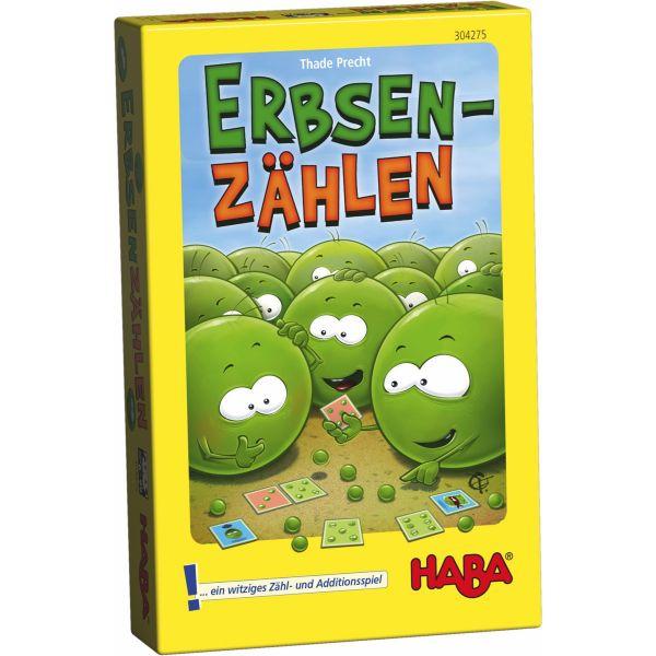 HABA 304275 - Mitbringspiel - Erbsenzählen