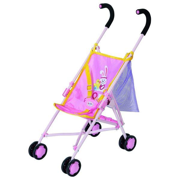 Zapf Creation 828663 - BABY born® Puppenwagen - Buggy mit Tasche, Stroller with Bag 2020