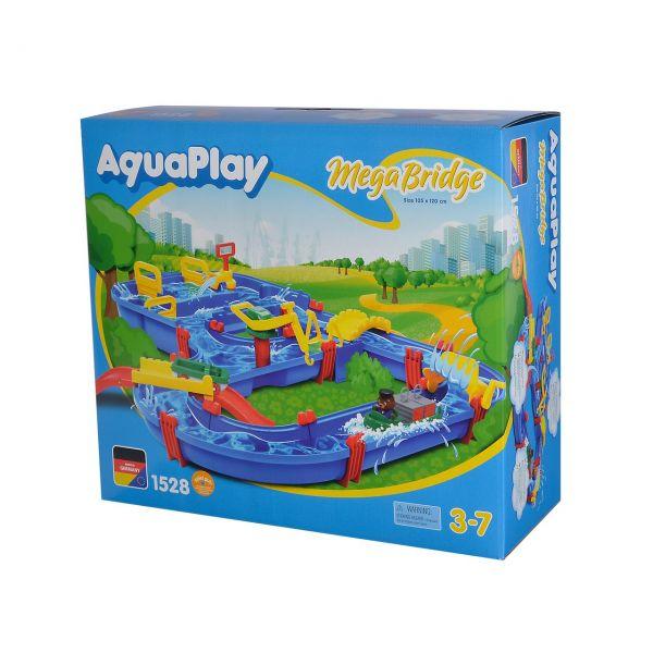 BIG 8700001528 - AquaPlay - Mega Bridge, 105x125cm