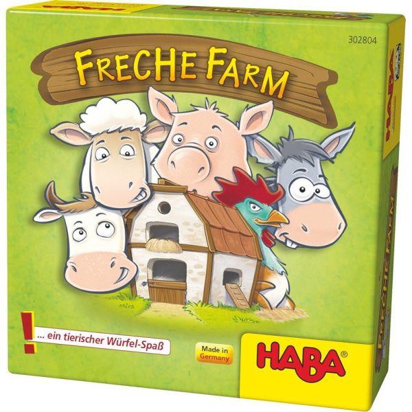 HABA 302804 - Mitbringspiel - Freche Farm