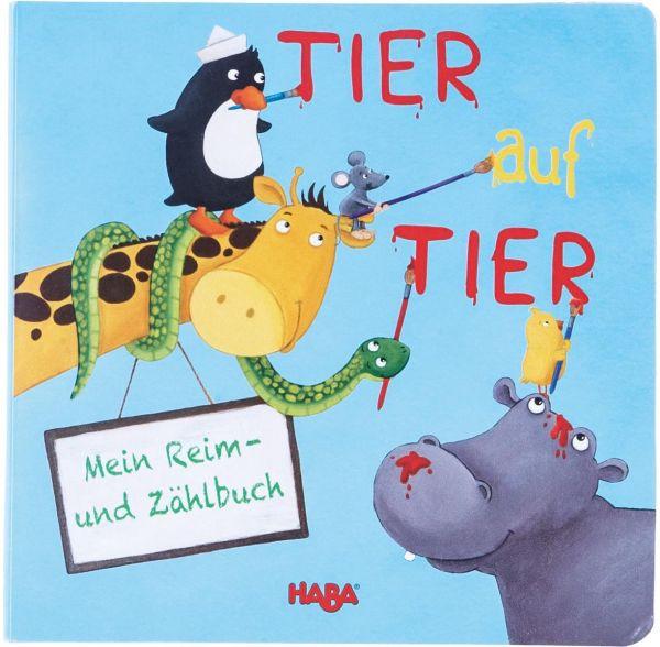 HABA 301464 - Reim- und Zählbuch: Tier auf Tier Gebundene Ausgabe – 2/2015