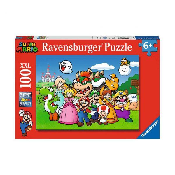 RAVENSBURGER 12992 - Puzzle - Super Mario Fun, 100 Teile XXL