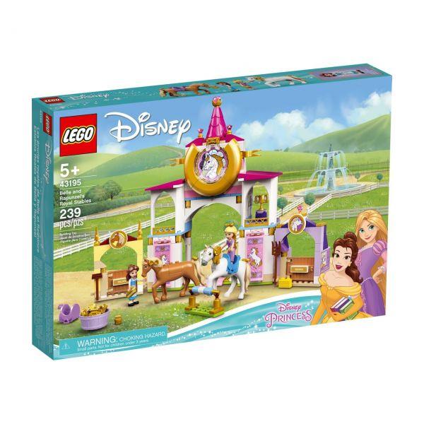 LEGO 43195 - Disney Princess - Belles und Rapunzels königliche Ställe