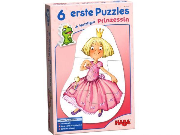 Haba 30310 - 6 erste Puzzles – Prinzessin