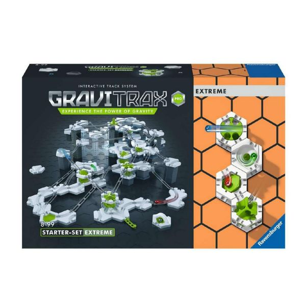 RAVENSBURGER 27019 - GraviTrax - Pro Starter-Set Extreme