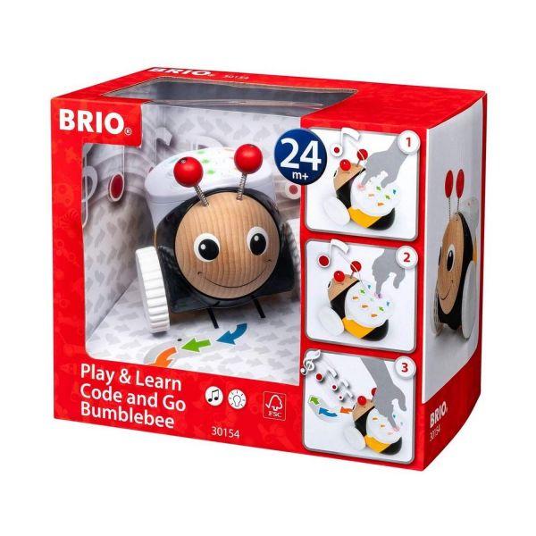 BRIO 30154 - Kleinkind - Code and Go Programmierbare RC Hummel MINT-Inhalte