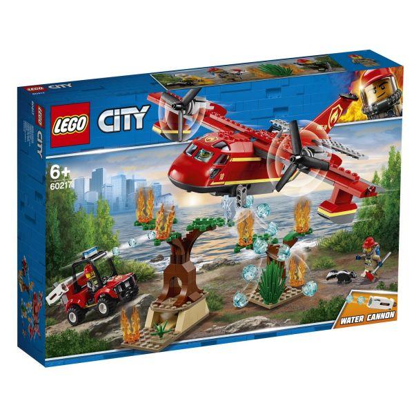 LEGO 60217 - City Feuerwehr - Löschflugzeug der Feuerwehr