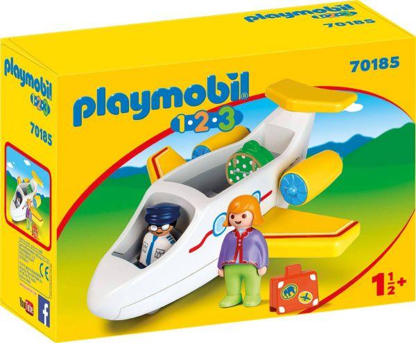 PLAYMOBIL 70185 - 1.2.3 - Passagierflugzeug