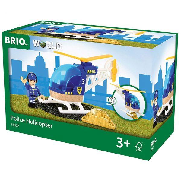 BRIO 33828 - Bahn - Polizeihubschrauber