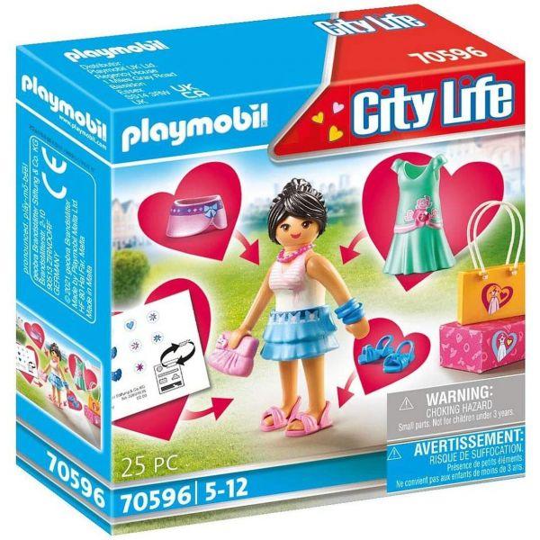 PLAYMOBIL 70596 - City Life - Fashion Girl