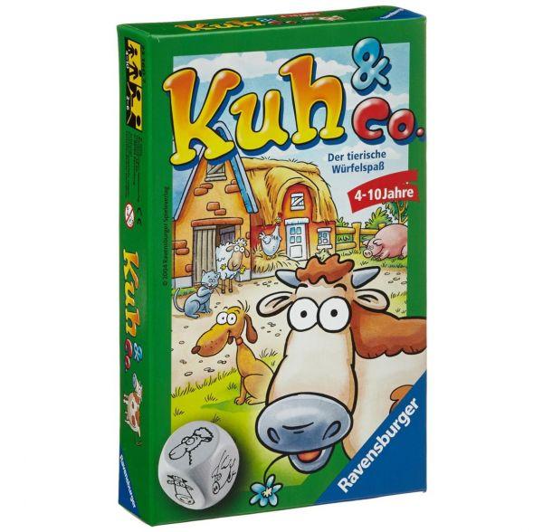RAVENSBURGER 23160 - Mitbringspiel - Kuh und Co