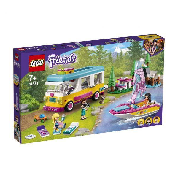 LEGO 41681 - Friends - Wohnmobil- und Segelbootausflug