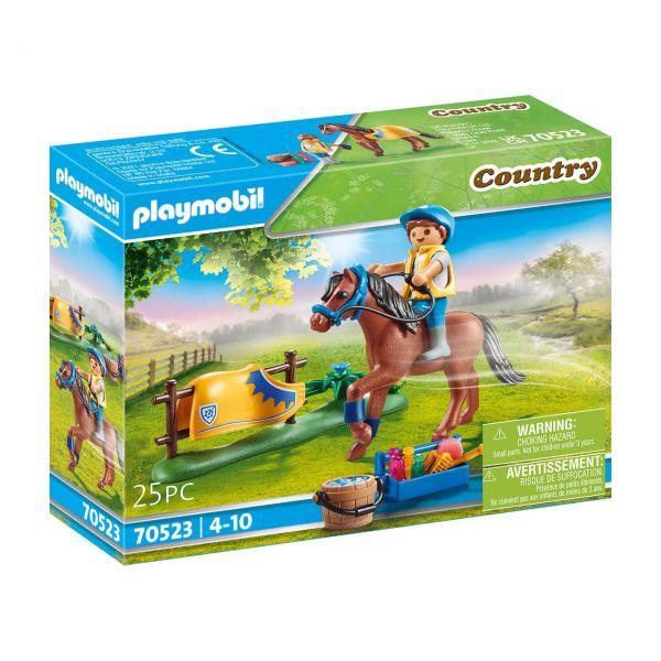 """PLAYMOBIL 70523 - Country Ponyhof - Sammelpony """"Welsh"""""""